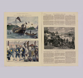 "Sketches in Formosa, from ""The Illustrated London News"""