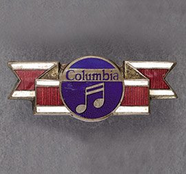 Badge of Columbia Records