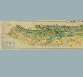 Bird's-eye view of Taiwan (1931)